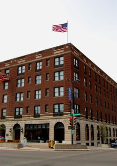 Eldridge Hotel ~ Lawrence, Kansas. Buck's shameful past as a bushwhacker is something he hides from Amy, whose father was killed in the Lawrence massacre.