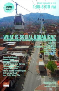 What is social urbanism poster