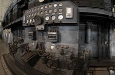 Control Panel inside Montemartini Power Station