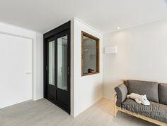 부산시 해운대구 좌동 대림1차 아파트 인테리어 [부산 31평 아파트 인테리어][부산 신혼집 인테리어] : 네이버 블로그 Entrance Design, Shoe Cabinet, Dividers, Living Room, House, Ideas, Home Decor, Entrance Halls, Blinds