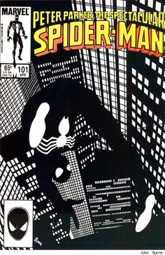 Black suit Spider-Man by John Byrne