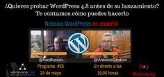 Cómo ser beta tester de WordPress Te lo contamos en Noticias WordPress en español ¿Te gustaría ser parte del equipo WordPress? Hay muchas formas de colaborar con la enorme comunidad que trabaja cada día para mejorar WordPress. En este programa de Noticias WordPress en español te contamos una de esas formas: como beta tester de las nuevas versiones.  El programa 25 de Noticias WordPress en español, está dedicado a conocer todas las novedades que traerá la versión 4.8 de WordPress y cómo poder…
