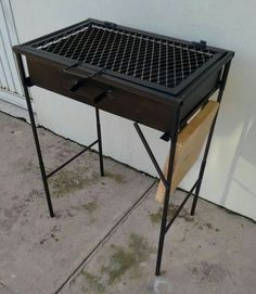 Bbq Grill, Barbecue Pit, Bar B Que Grills, Homemade Grill, Folding Bbq, Custom Bbq Pits, Brick Bbq, Grillin And Chillin, Bbq Set