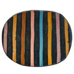 JUN KANEKO (b. 1942)Glazed earthenware plate, USA, 1980sSigned Kaneko 108/125