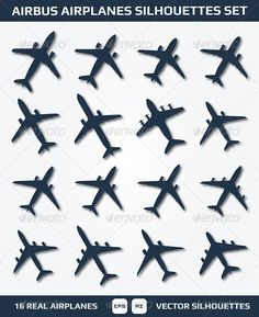 Buy Airbus Airplanes Silhouettes Set by redfoxsleep on GraphicRiver. This is Airbus Airplanes Silhouettes Set. Airplane Silhouette, Number Tattoos, Freedom Tattoos, Airplane Tattoos, Small Tattoos, Tatoos, Airbus, Tattoo Designs, Aircraft