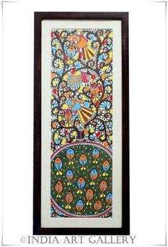 INDIA ART GALLERY: Madhubani paintings