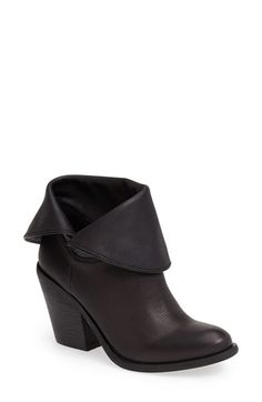 Free shipping and returns on Lucky Brand 'Ethann' Foldover Shaft Leather Bootie (Women) at Nordstrom.com. A chunky stacked heel adds just-right height to a trend-worthy bootie with a fold-over cuff.