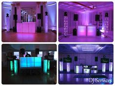 Top b'nai mitzvah party trends - LED DJ booth from Vision Entertainment - mazelmoments.com