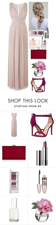 """Event"" by eliza-redkina ❤ liked on Polyvore featuring Amanda Wakeley, Steve Madden, Clinique, Maybelline, Essie, Diane James, outfit, like, look and evening"