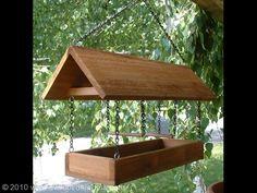 Open Bird Feeders | 16 inch Cedar Open Platform Bird Feeder - $48.97 each.