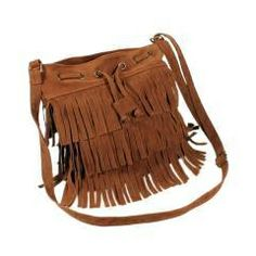 Checkout this amazing product New Vintage Coffee/Brown Bohemian BoHo Fringed Ladies Handbag/Purse at Shopintoit