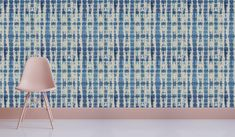 The wallcovering range, available at Robin Sprong, is a first for Cottonberry. Shibori, Robin, Indigo, Range, Decorating, Wallpaper, Collection, Design, Home Decor