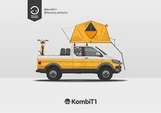 KombiT1: VW T6 Pick Up 4x4