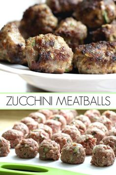 Zucchini Meatballs Add more veggies to your family meals. Try this delicious recipe for zucchini meatballs with shredded zucchini. So much flavor in these pan-fried meatballs. Shredded Zucchini Recipes, Ground Beef Recipes, Vegetable Recipes, Large Zucchini Recipes, Zucchini Jam, Healthy Meatballs, Veggie Meatballs, Turkey Zucchini Meatballs, Fast Recipes