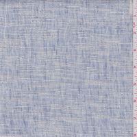 Pale Periwinkle Blue Stripe Linen