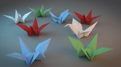How to make origami crane - origami instructions for children