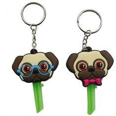 KEY52 - Cappucci per Chiavi - Pug Carlino | Puckator IT  #pug #accessori #puckator #key