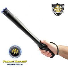 Police Force Tactical Stun Baton Flashlight - 9 Million Volts