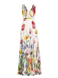 Buy Floral Printed Charming Surplice Maxi-dress online with cheap prices and discover fashion Maxi Dresses at Fashionmia.com.