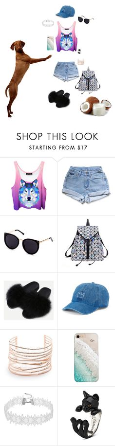 """""""Dog fashion"""" by nataliamaria2006 ❤ liked on Polyvore featuring Levi's, SO, Alexis Bittar and Gray Malin"""