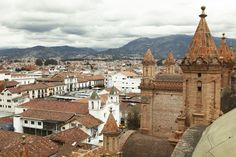 CUENCA, ECUADOR: With its charming cathedrals, parks and cobblestone streets, Cuenca is rich in European flavor.