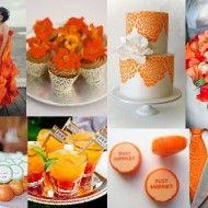INSPIRAÇÃO: Casamento amarelo e laranja