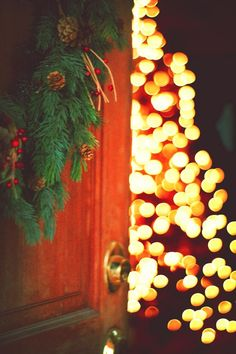 Christmas lights--I miss them already!!