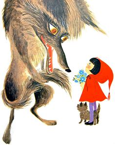 Vintage Kids' Books My Kid Loves: Little Red Riding Hood