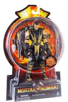 Mortal Kombat: MK9 Modern Scorpion 6'' Action Figure by Mortal Kombat