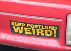The local bumper sticker