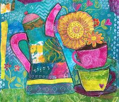 Print The Joy of Sharing 8x10 by Elizabeth Claire