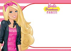 Download Now FREE Barbie Birthday Invitation Templates Barbie Birthday Invitations, Barbie Birthday Party, Free Printable Birthday Invitations, Barbie Party, Girl Birthday, Birthday Parties, Birthday Nails, Foto Mario Bros, Birthday Man Quotes