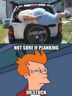 Not sure if planking?