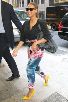 Beyonce wearing Stella McCartney