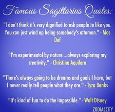 Discover and share Sagittarius Woman Quotes. Explore our collection of motivational and famous quotes by authors you know and love. Famous Sagittarius, Sagittarius Women, Zodiac Signs Sagittarius, Astrology Zodiac, Zodiac Facts, Sign Quotes, True Quotes, Saggitarius, Zodiac City