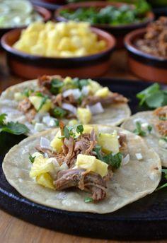 Tacos al Pastor - these are my favorite tacos ever! /BR @catherine gruntman gruntman Cuisine