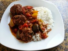[Pan] Kofta à la Paleo - Paleo by Leo Dutch Recipes, Greek Recipes, Beignets, Food Tech, Juice Plus, Slow Cooker, Foodies, Main Dishes, Food And Drink