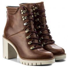 Magasított cipő TOMMY HILFIGER - Paola 5A FW0FW01543 Winter Cognac 906