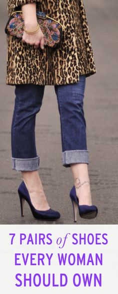 7 classic pairs of shoes every woman should have in her closet