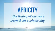 During March we officially move from winter to spring so I thought it would be appropriate to share two seasonal words.