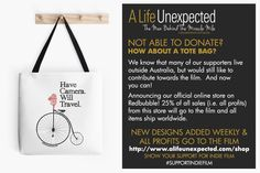 Life Unexpected, The Man, The Outsiders, Champion, Tote Bag, Canning, Shirt, Dress Shirt, Totes