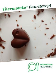 Nougat chocolates for silicone chocolates from rappeltine. A Thermomix ® recipe . Healty Lunches, Thermomix Desserts, Brownie, Energy Balls, Bakery, Food And Drink, Pudding, Recipes, Chocolates