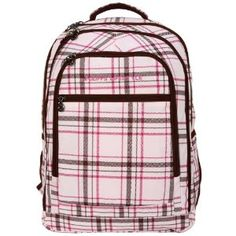 15 inch Pink Plaid Pattern Laptop Padded Compartment Backpack School Bag (Electronics) http://www.amazon.com/dp/B006H6OCVO/?tag=pindemons-20 B006H6OCVO