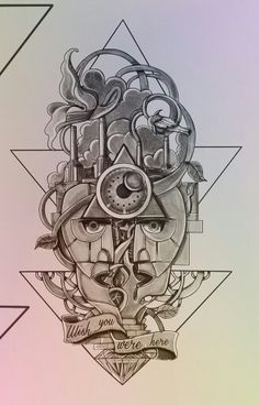 Pink Floyd Tattoo Design
