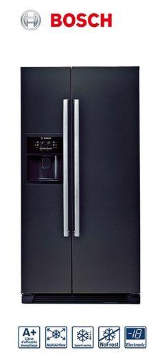 Réfrigérateur-congélateur américain | Volume partie réfrigérateur : 356L | Volume partie congélateur : 175L