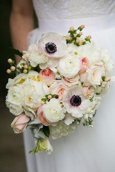 Beautiful-Wedding-Bouquet-Subtle-Elegance-Pink-White-Black-Flowers