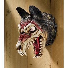 Werewolf Zombie Wall Plaque