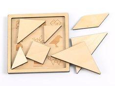 Tangram Puzzle Wooden