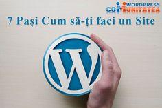 Site WordPress – 7 Pași necesari cum să-ți faci un site Buick Logo, Wordpress, Logos, Logo