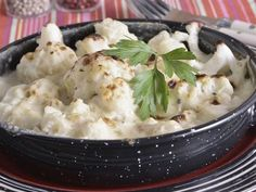 Receta   Coliflor gratinada con queso y manzana - canalcocina.es